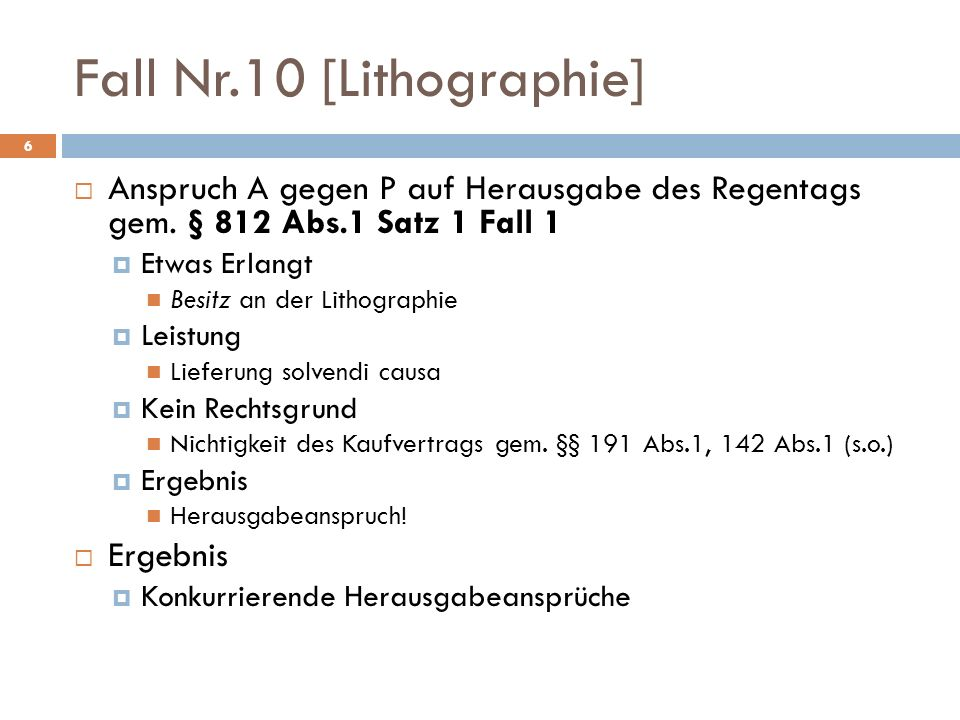 Fall Nr.10 [Lithographie]